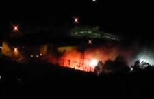 12 settembre nuovo attacco notturno al cantiere tav di Chiomonte 9 fermi