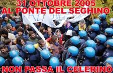31 ottobre 2005: inizia la resistenza con la Battaglia del Seghino