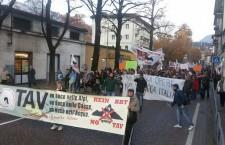 Trento – Oltre 1000 persone alla manifestazione No Tav