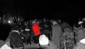 Capodanno in Clarea, polizia molto nervosa