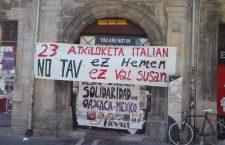 La solidarietà alla Valle di Susa dai Paesi Baschi