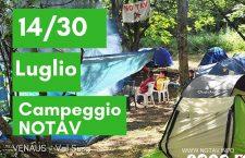 Per il campeggio: VIVERE E LOTTARE INSIEME IN UNA VALLE ALPINA