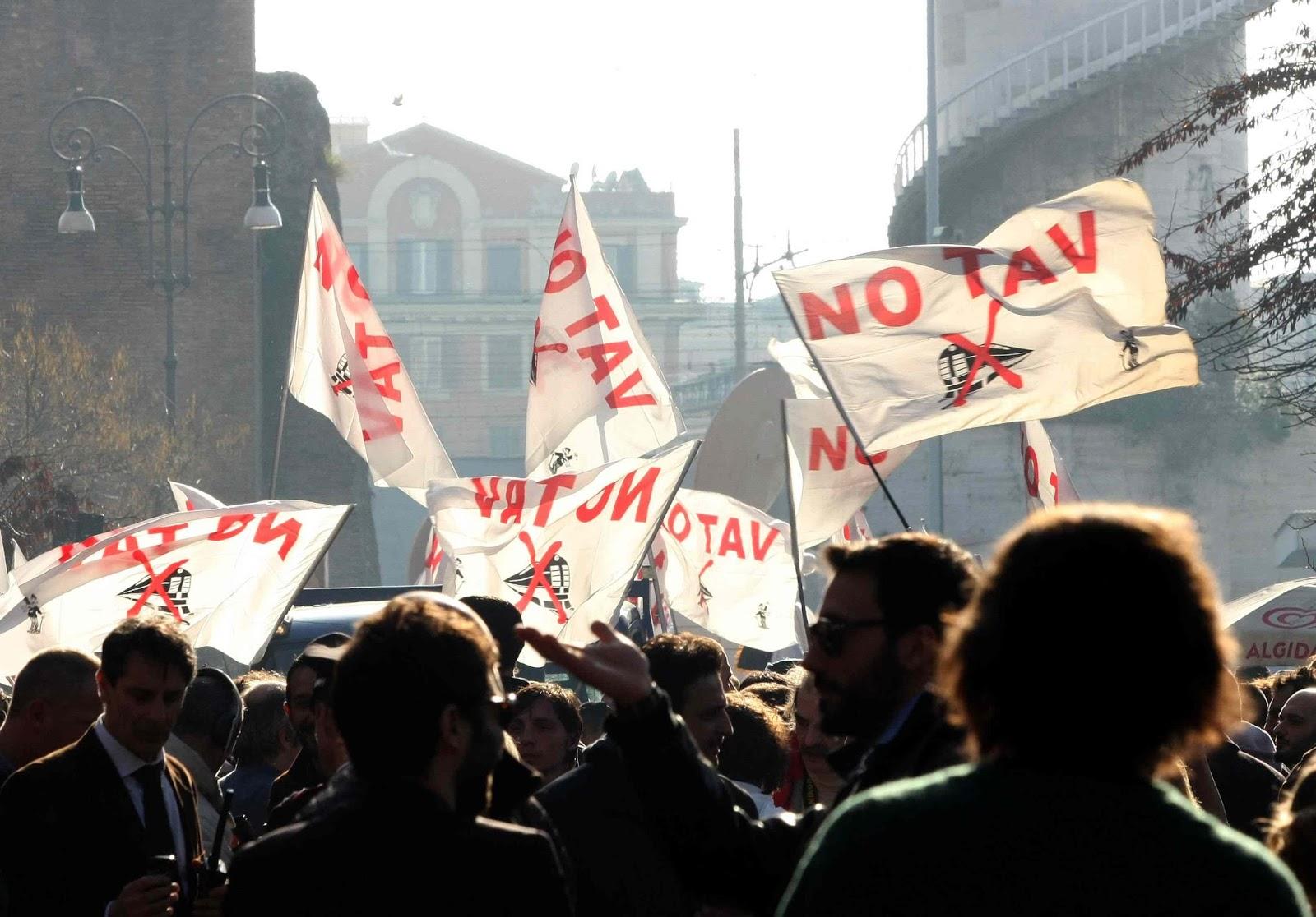 I comuni della Val Susa, Rivalta, Venaria e Torino ribadiscono il NO al Tav