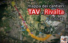 Il TAV a Rivalta (mappa interattiva)