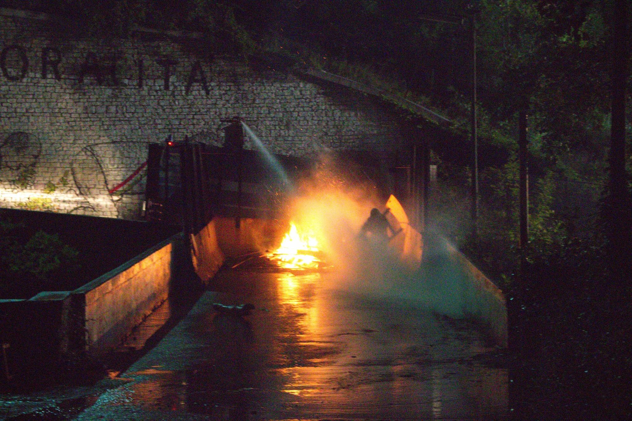 14/08, notte dei fuochi No Tav. Polizia nervosa e idranti a Chiomonte (FOTO e VIDEO)