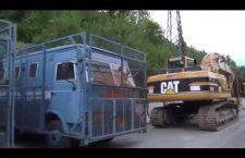 Incursioni ad alta felicità al cantiere in Val Clarea [VIDEO]
