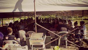 6/09 Seconda giornata di Campeggio Studentesco No Tav