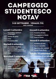 5-10/09 Campeggio nazionale studentesco No Tav