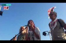 I  NOTAV in tour sul palco dei No Grandi Navi! Libertà per tutti i No Tav!