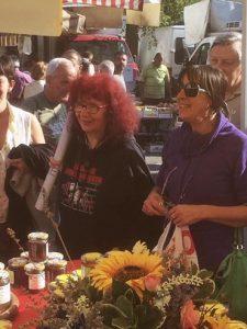 26/09 Il mercato di Bussoleno solidale con Nicoletta