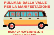Pullman notav per la manifestazione del 27 nov. a Roma! C'è chi Dice no!