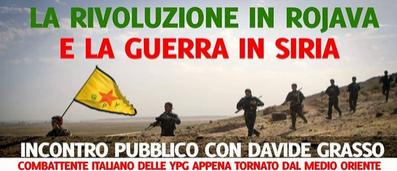 30 nov Torino un notav in Rojava dibattito con Davide Grasso