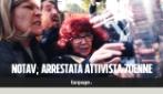 Video dell'arresto di Nicoletta Dosio al Tribunale di Torino