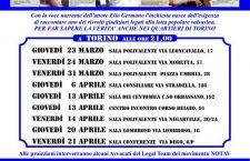 """""""ARCHIVIATO"""" nei quartieri di Torino: date e luoghi"""