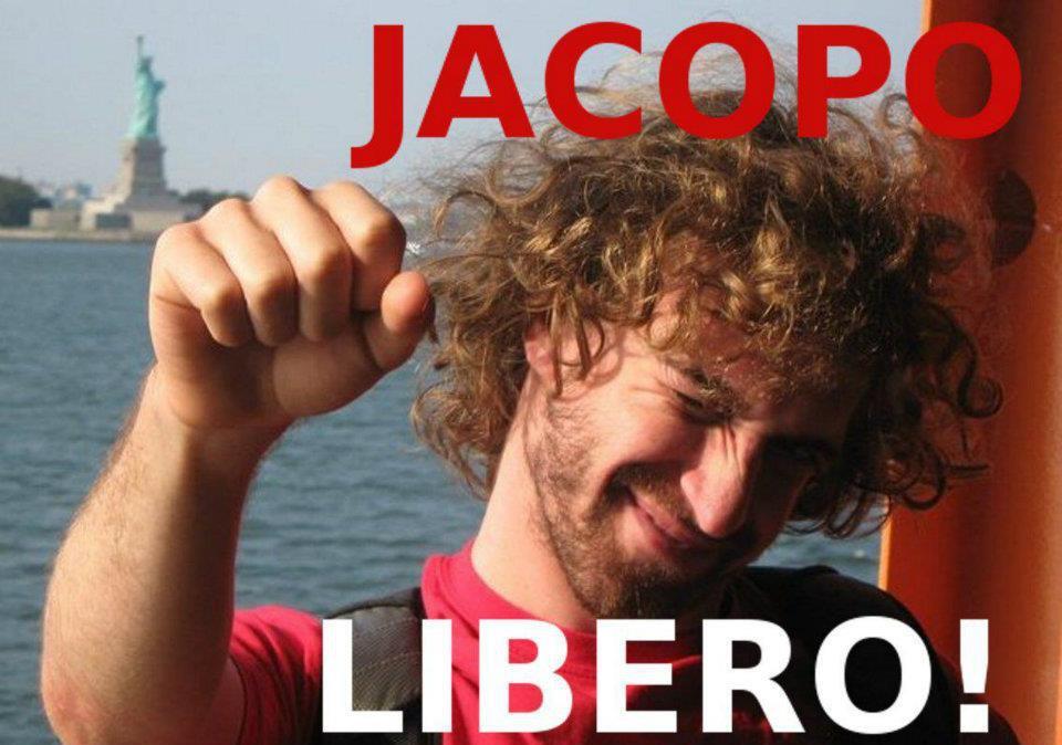 Jacopo No Tav dai domiciliari su sentenza d'appello del maxiprocesso