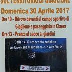 30 aprile gita da Giaglione al cantiere della val clarea