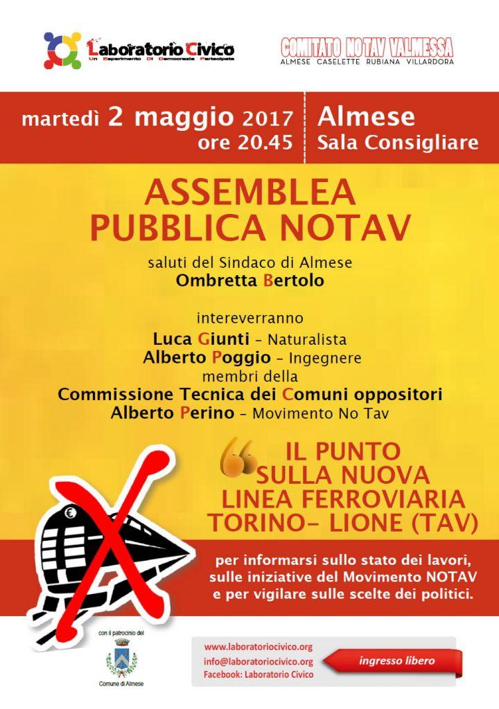 Almese: assemblea pubblica No Tav