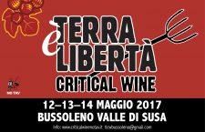 Critical Wine No Tav 12-13-14 maggio 2017