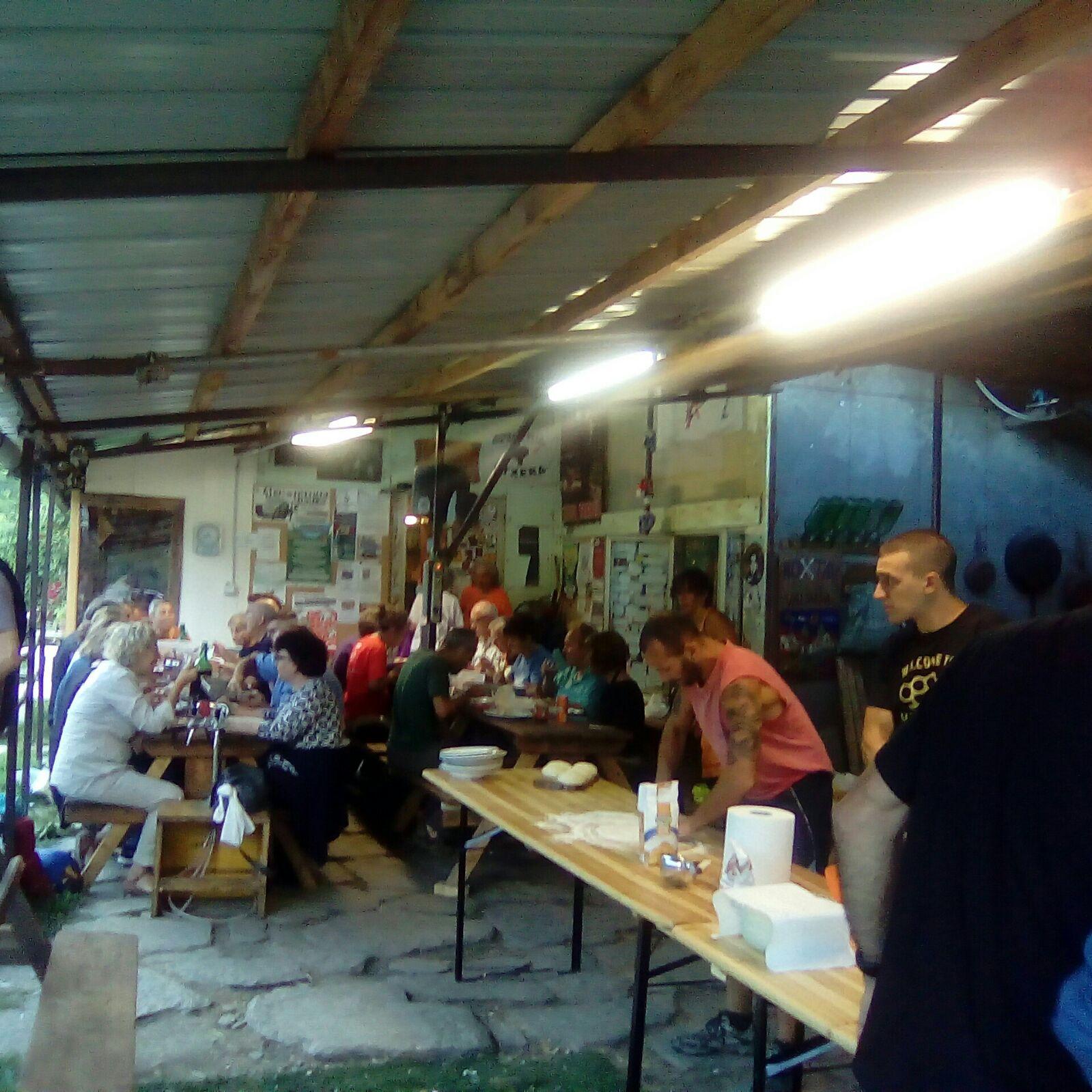 Inizia il campeggio di lotta No Tav, 1° giorno (FOTO)