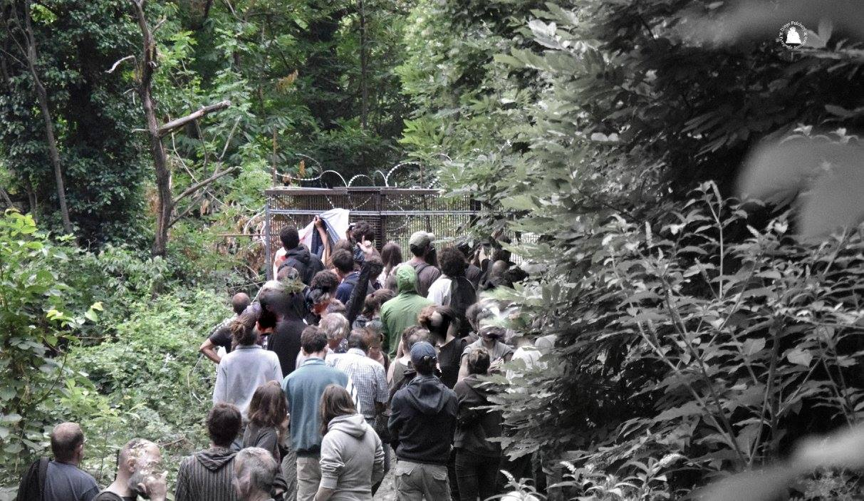 Giovedì in Clarea nonostante l'ordinanza, venerdì 21/07 apericena No Tav! (FOTO)
