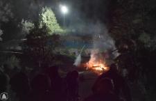 Venerdì notav fuochi e resistenza alla centrale di Chiomonte