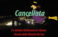 31/10, Halloween in Clarea: serata delle Masche No Tav!
