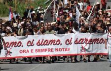 Di nuovo in marcia con un'idea chiara: NO TAV