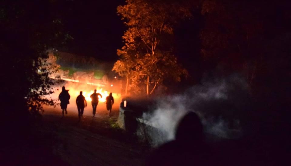 Fuochi sul cantiere, i lacrimogeni non fermano i No Tav!