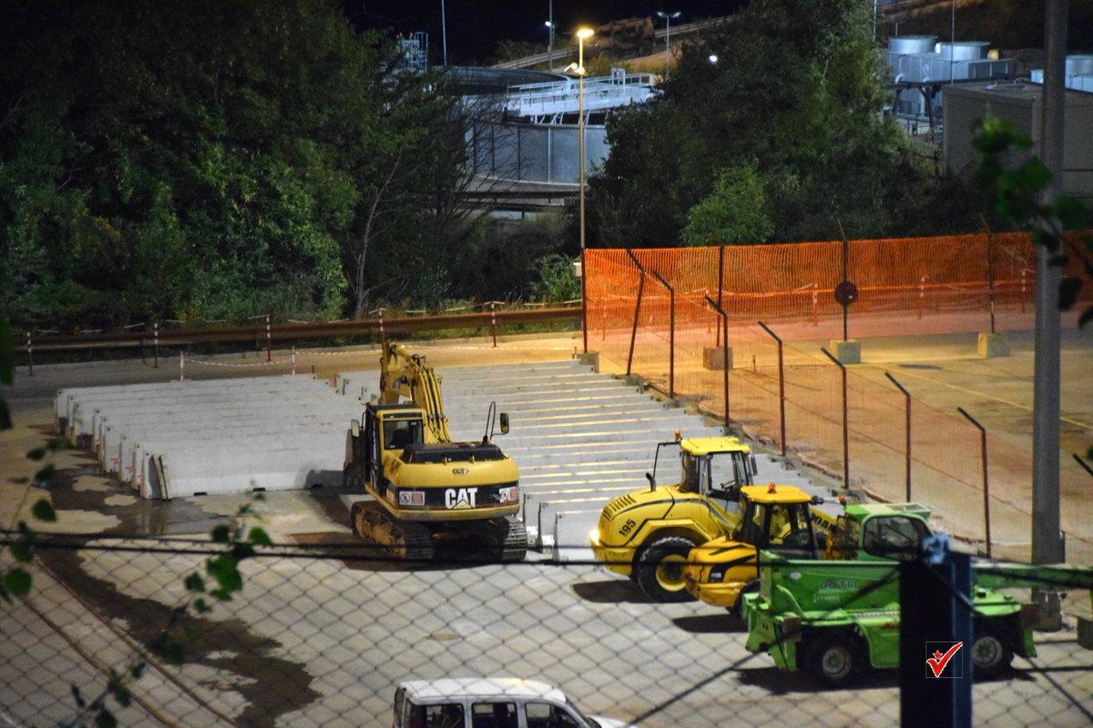 Pronto l'allargamento del cantiere, il governo sta a guardare