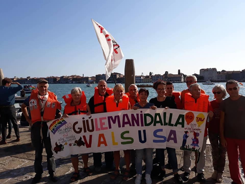 No Tav a Venezia! Battaglia navale e appello alla mobilitazione