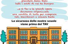 La sicurezza delle scuole viene prima del TAV