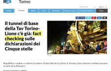 I numerosi problemi di Repubblica a fare un serio fact checking sul Tav