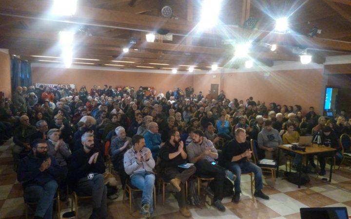 Dall'assemblea nazionale: il 23 marzo tutti a Roma!