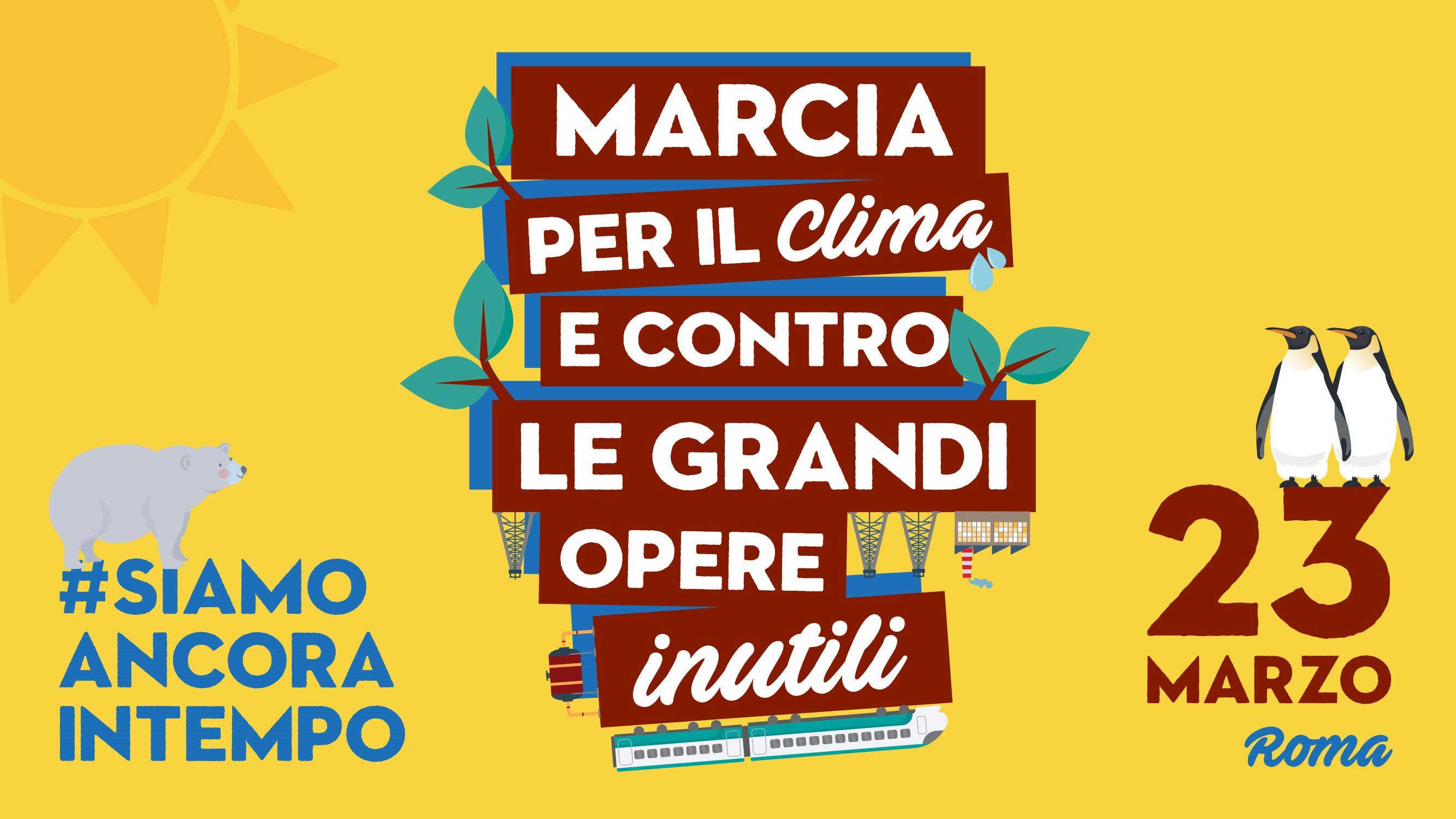 23M, autobus dalla Valle e da Torino per Roma!