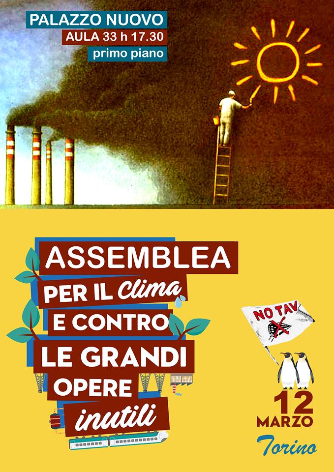Torino 12/03, assemblea verso il 23 Marzo a Roma!