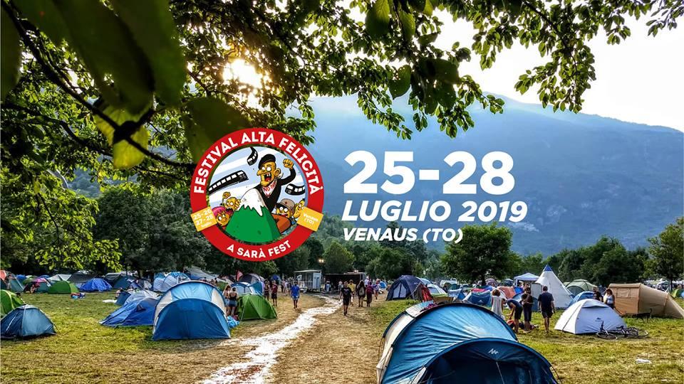 25-28/07, Venaus. Festival Alta Felicità!