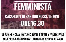 23/11 Assemblea Femminista a San Didero