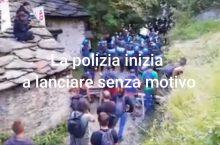 24/07 lacrimogeni sul presidio permanente dei Mulini