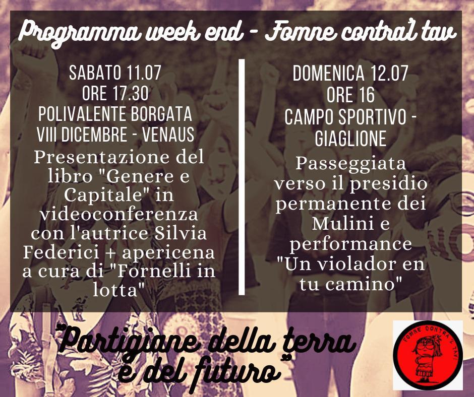 11-12/07, Weekend Fomne Contra 'l Tav