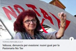 Nicoletta denunciata per evasione, ennesima vergogna della questura torinese