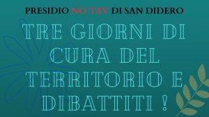 San Didero : tre giorni di cura del territorio e dibattiti