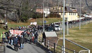Manifestazione No Tav: questa è la nostra terra e la difenderemo!