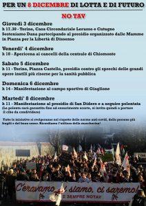 Per un 8 dicembre di lotta e di futuro