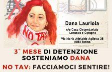 Dana 3 mesi di detenzione: facciamoci sentire sotto al carcere