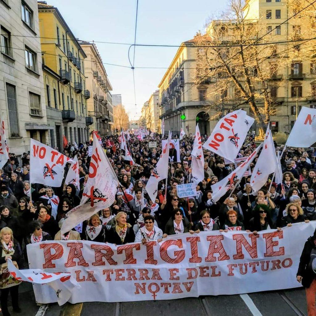 Fomne Contra 'L Tav: Dana libera! Libertà per i/le No Tav! ( VIDEO)