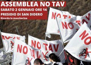 Presidio di San Didero : Sabato 2/01 Assemblea No Tav