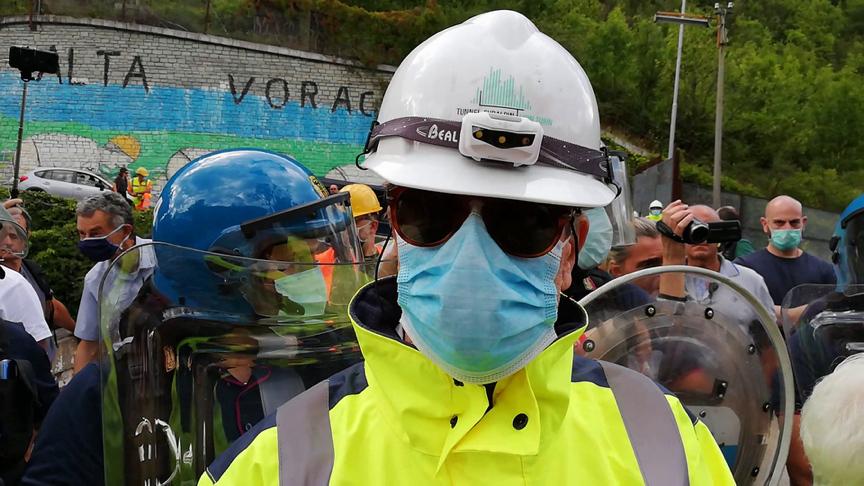 22/02/2021 Iniziata l'operazione di esproprio dei terreni dei No Tav