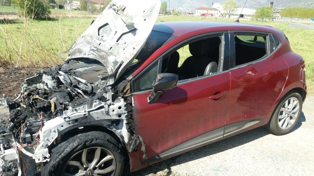 Attiva la raccolta fondi per sostenere spese dell'auto No Tav bruciata a San Didero