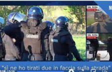 Carabiniere si vanta di aver sparato lacrimogeni in faccia ai No Tav (video)