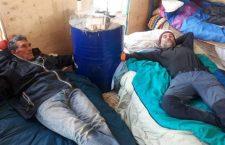 San Didero: i compagni sul tetto sono incatenati e la polizia impedisce i rifornimenti di cibo e acqua